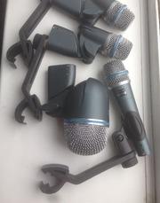 Микрофоны,  подъзвучка,  барабаны ,  shure